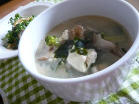 ごま香る♥具だくさんスープ