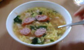 クノールふんわりオムライス風スープ飯