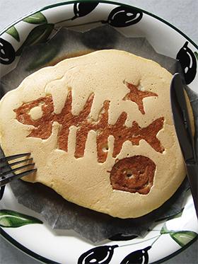 ホットケーキで化石発見?!