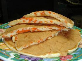 簡単♪人参とおからのしっとりパンケーキ