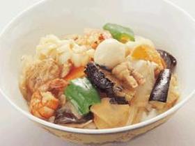 中華丼 or 八宝菜