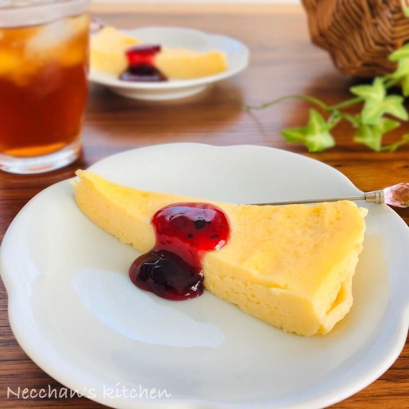 レンジ2分半!!本格的チーズケーキ