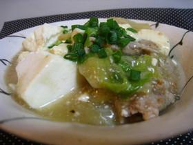 豆腐と白菜と豚肉のトロやわ煮