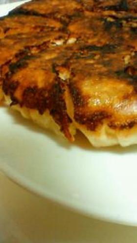 簡単旨いキムチ餃子。