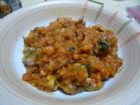 大人の味☆鶏肉の生トマトソース煮込み