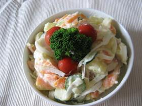 野菜たくさん♪ポテトサラダ