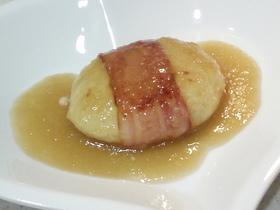 ベーコン巻き☆豆腐ハンバーグおろしソース