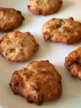 カリモチっ♪バナナチョコチップクッキー