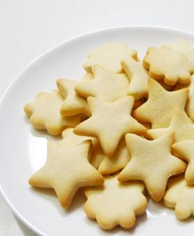 卵&バター不要で簡単☆粉ミルククッキー