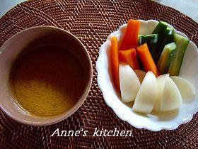簡単!温野菜のバーニャカウダ