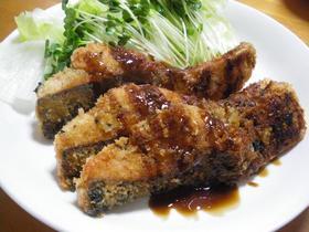 生鮭のパン粉焼き