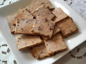カリッ♪ポリッ♪簡単おから小豆クッキー