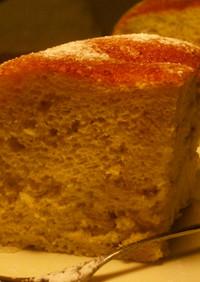 炊飯器で☆ヘルシーバナナシフォンケーキ