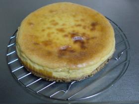 フープロで簡単♪ベークドチーズケーキ