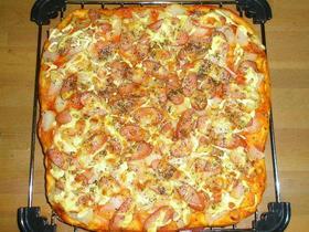簡単!早く出来るピザパン
