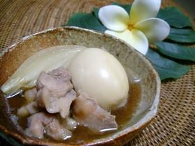 ゆで卵のベトナム風煮込み