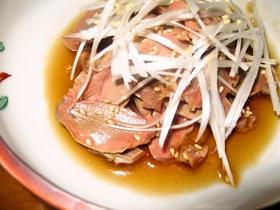 砂肝のピリ辛冷菜