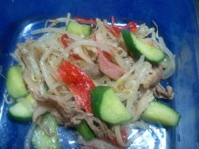 カリ豚キュウリの炒め物