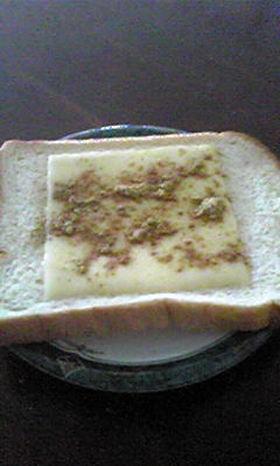 超簡単!カレー&チーズトースト