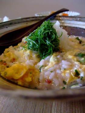 【クノール】山芋とおくらの雑穀スープ飯