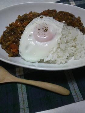 鶏ミンチとレンコン★筍のカレー