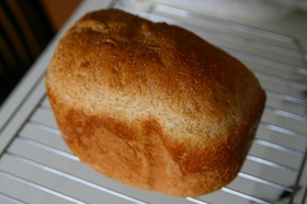 HBレシピ♪けしの実☆米粉食パン☆