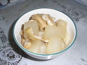 冬瓜と油揚げの炒め煮