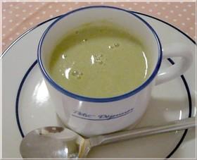 ソラマメと豆乳のスープ
