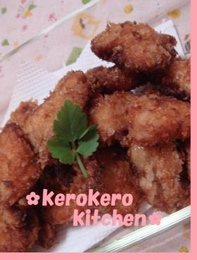 鶏むね肉のお弁当フライ☆