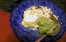 豆乳おかゆのローファットアイスクリーム