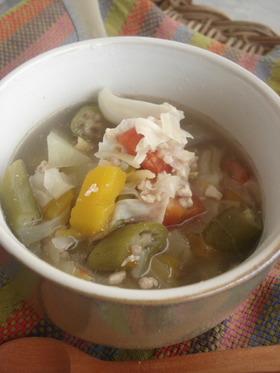 セブ料理■夏野菜がいっぱいスープ■