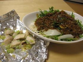 サラダジャージャー麺