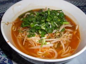 豆腐キムチスープ
