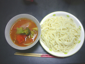 ☆牛肉とトマトのつけ麺☆