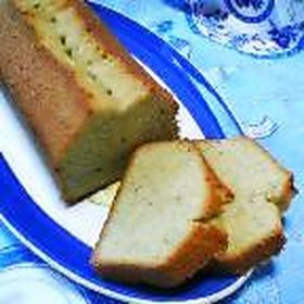 梅酒香るパウンドケーキ