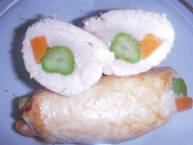お弁当(鶏胸ロール)