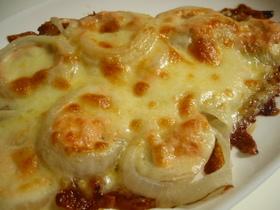 【明太子】とろ~り玉葱の明太子チーズ焼き
