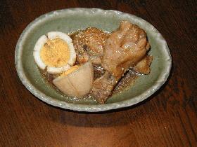 ♪さっぱり♪卵と鶏手羽元の親子煮♪