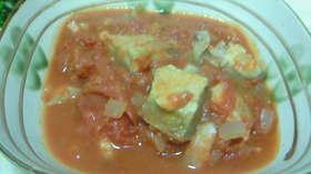 ホッケのトマト煮込み (他の魚でもOK)