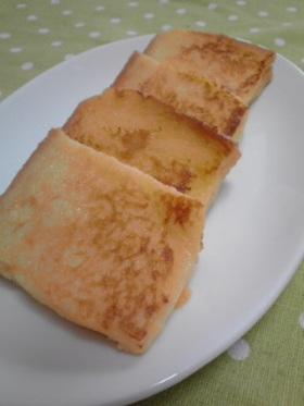 優しい甘さの練乳入りフレンチトースト
