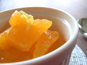 レモンとオレンジのクラッシュゼリー