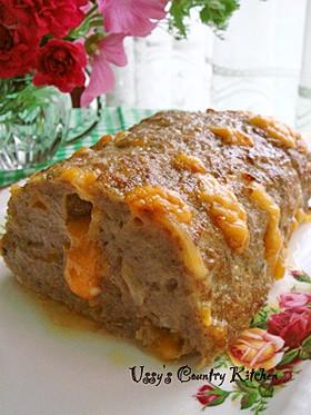 ボルケーノ☆チェダーチーズのミートローフ