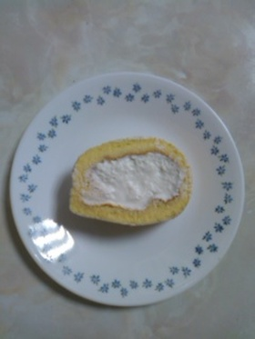 ふんわり❤米粉のロールケーキ