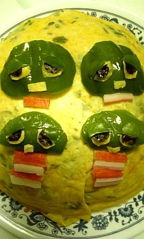 ☆ガチャピン☆キャラ弁にいかが??