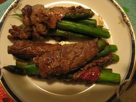 牛肉の野菜巻き バルサミコ味