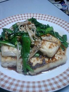 母の味♪豆腐ステーキ