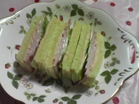 お弁当に♪1人用サンドイッチパン