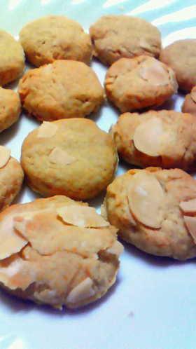 簡単☆紅茶アーモンドクッキー