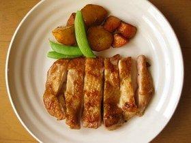 シンプルに! 鶏もも肉の中華風
