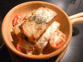 カリカリ厚揚げのチーズ焼き